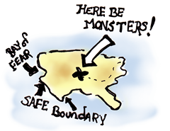 Here Be Monsters! The Map.