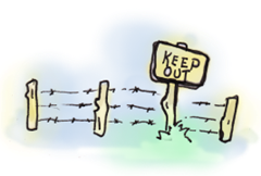 Keep Out. We Mean This!