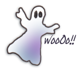 Woo-WOooooOOO says the ghost!