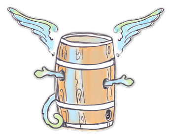 The Flying Barrel of Monkey