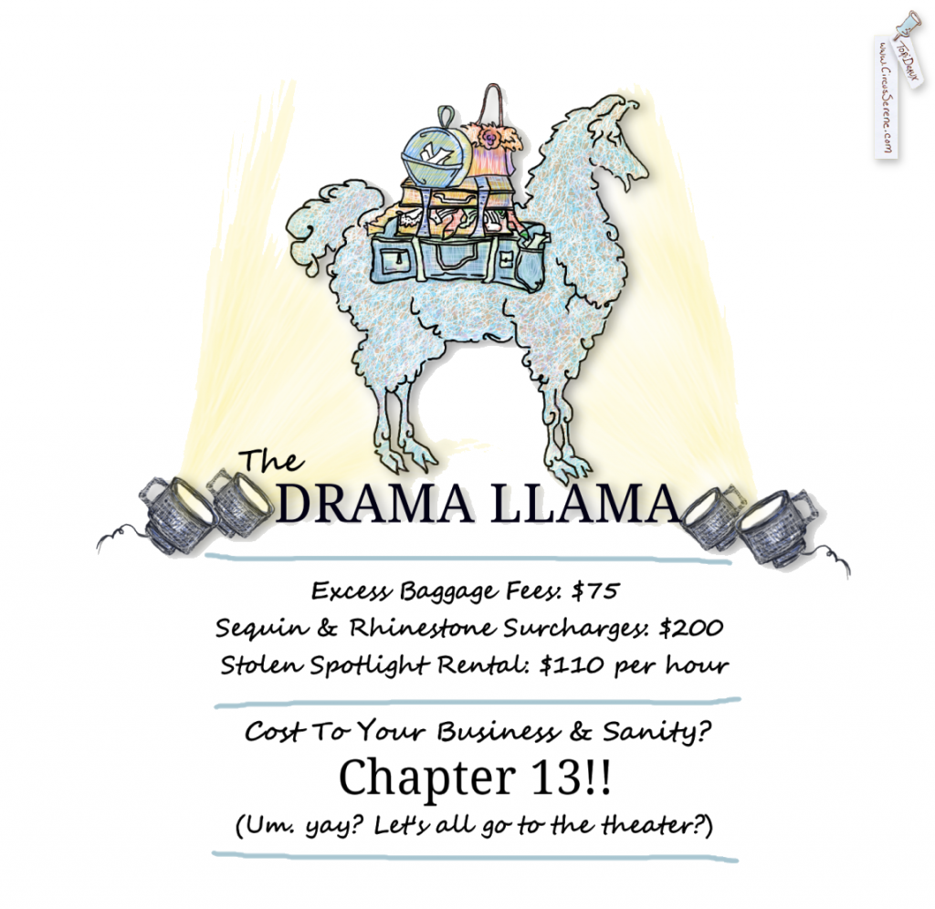The Drama Llama: A Business Villain With Flourish