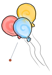 And mixing straight pins with balloons? Pretty much a promise that things will go wrong.